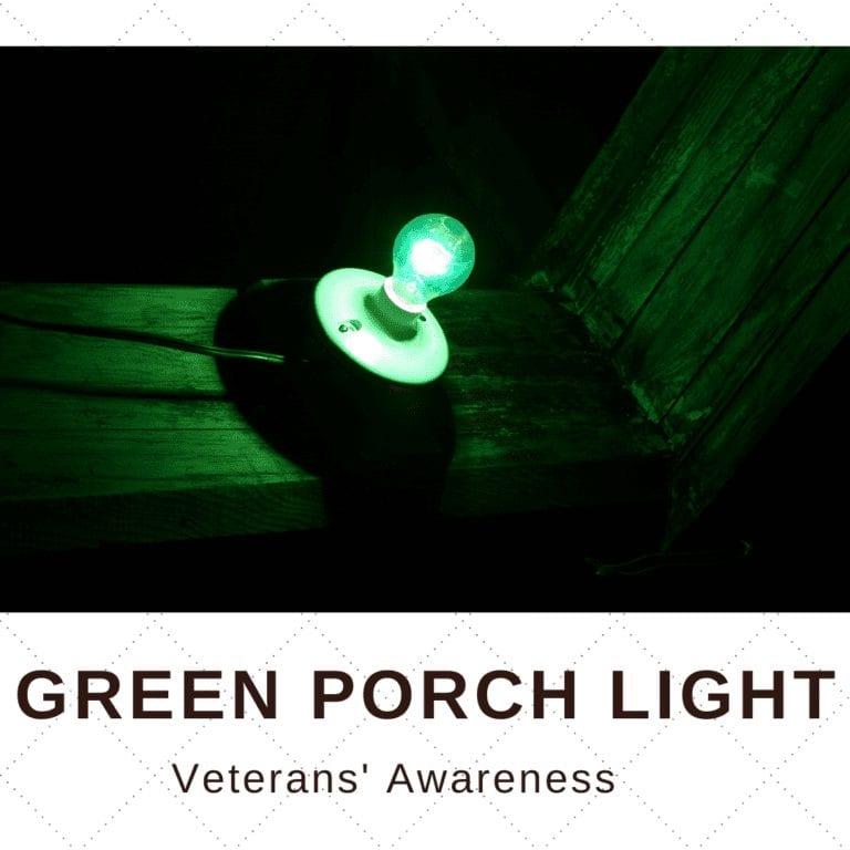 Green Porch Light