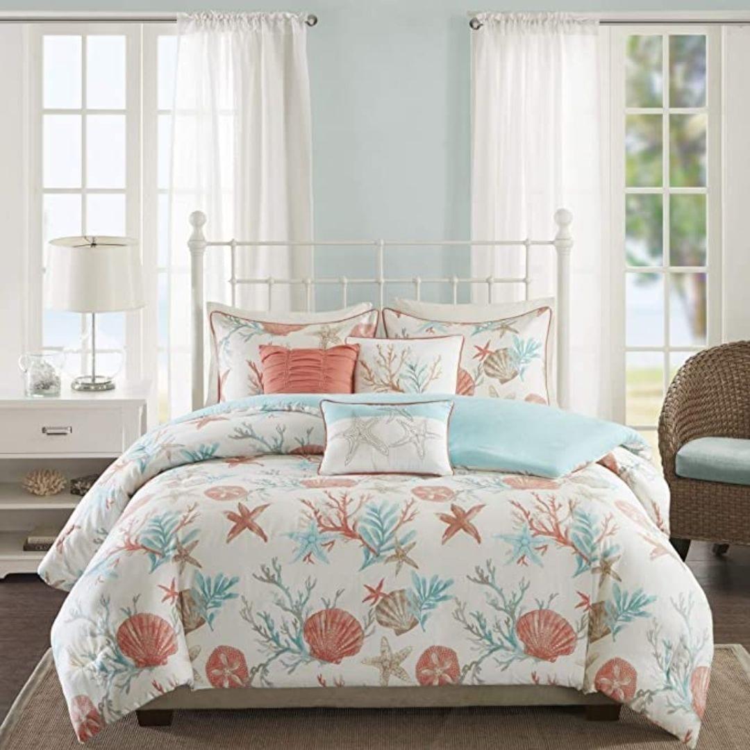 Madison Park Pebble Beach Comforter Set, Queen
