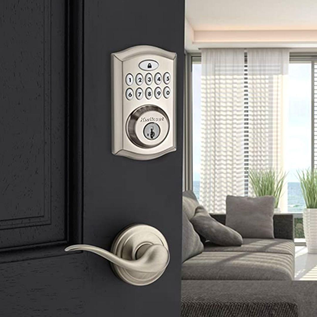 Kwikset Keyless Entry Electronic Keypad & Deadbolt Door Lock