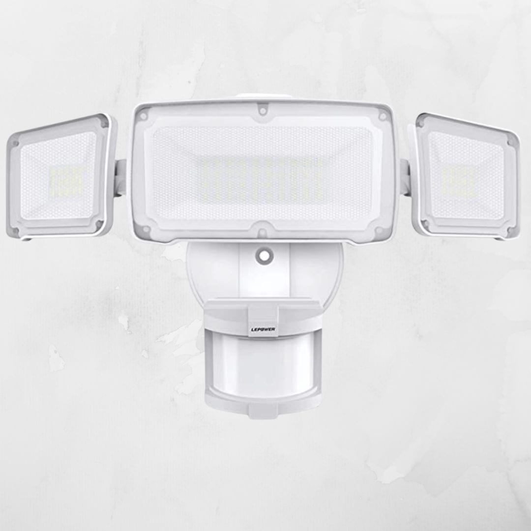 LEPOWER 35W LED Motion Sensor Light