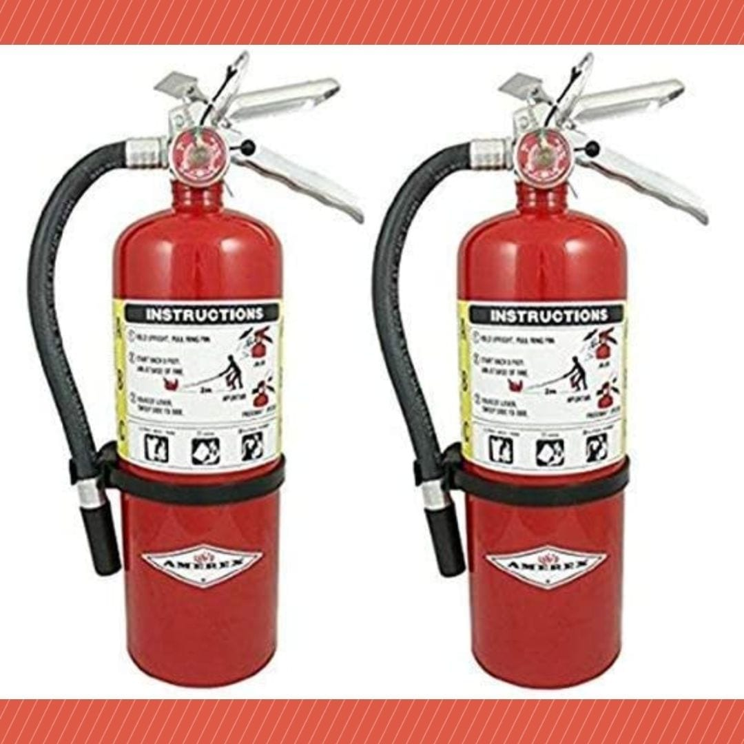 Amerex 5lb ABC Dry Chemical Class Fire Extinguisher (2)