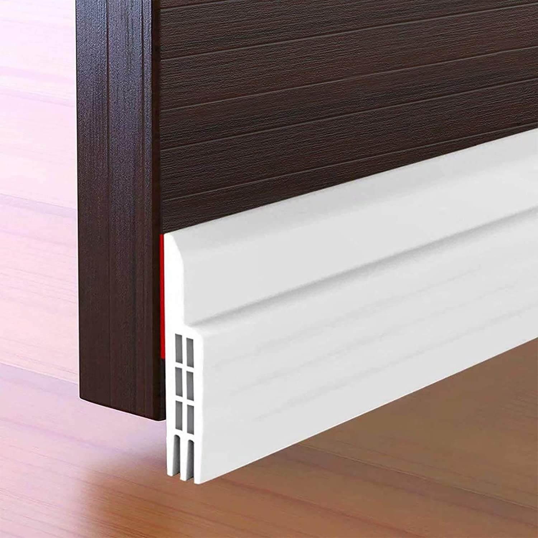 Suptikes Door Draft Stopper Under Door Seal for Exterior/Interior Doors
